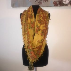 Anthropology Sete di Jaipur Scarf Wrap